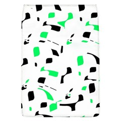 Green, black and white pattern Flap Covers (L)