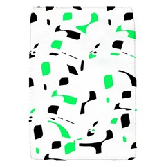 Green, black and white pattern Flap Covers (S)