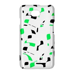Green, black and white pattern LG Optimus L70