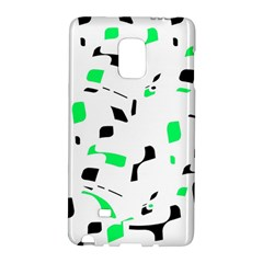 Green, black and white pattern Galaxy Note Edge