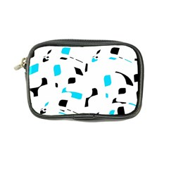 Blue, black and white pattern Coin Purse