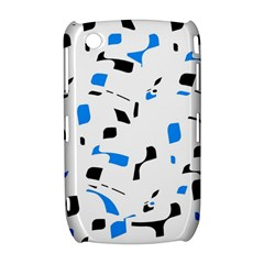 Blue, black and white pattern Curve 8520 9300
