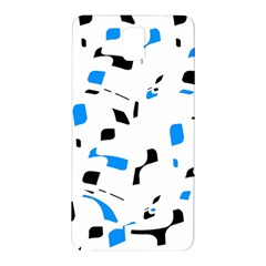 Blue, black and white pattern Samsung Galaxy Note 3 N9005 Hardshell Back Case