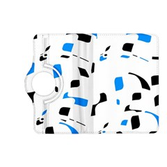 Blue, black and white pattern Kindle Fire HD (2013) Flip 360 Case