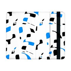 Blue, black and white pattern Samsung Galaxy Tab Pro 8.4  Flip Case