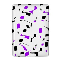 Purple, black and white pattern Kindle 4