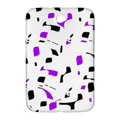 Purple, black and white pattern Samsung Galaxy Note 8.0 N5100 Hardshell Case