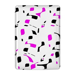 Magenta, black and white pattern Kindle 4
