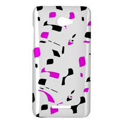 Magenta, black and white pattern HTC Butterfly X920E Hardshell Case