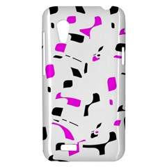 Magenta, black and white pattern HTC Desire VT (T328T) Hardshell Case