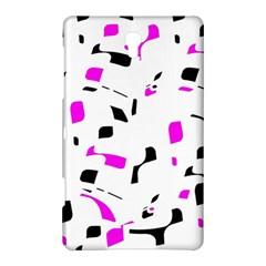Magenta, black and white pattern Samsung Galaxy Tab S (8.4 ) Hardshell Case