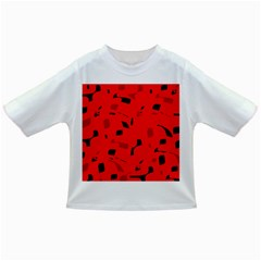 Red and black pattern Infant/Toddler T-Shirts