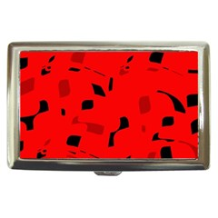 Red and black pattern Cigarette Money Cases