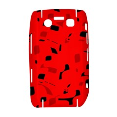 Red and black pattern Bold 9700