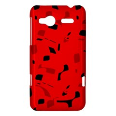 Red and black pattern HTC Radar Hardshell Case