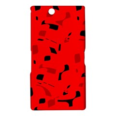 Red and black pattern Sony Xperia Z Ultra