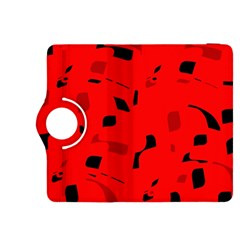 Red and black pattern Kindle Fire HDX 8.9  Flip 360 Case