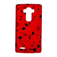 Red and black pattern LG G4 Hardshell Case