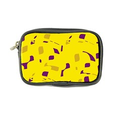 Yellow and purple pattern Coin Purse