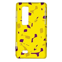 Yellow and purple pattern LG Optimus Thrill 4G P925