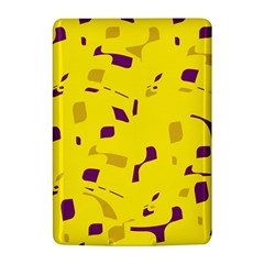 Yellow and purple pattern Kindle 4