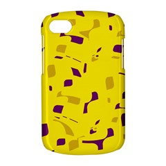 Yellow and purple pattern BlackBerry Q10