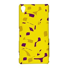 Yellow and purple pattern Sony Xperia Z3