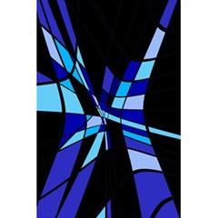 Blue abstart design 5.5  x 8.5  Notebooks