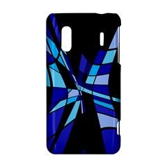 Blue abstart design HTC Evo Design 4G/ Hero S Hardshell Case