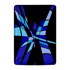 Blue abstart design Kindle 4
