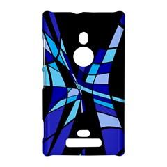 Blue abstart design Nokia Lumia 925