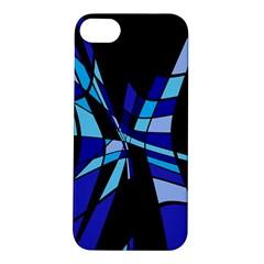 Blue abstart design Apple iPhone 5S/ SE Hardshell Case