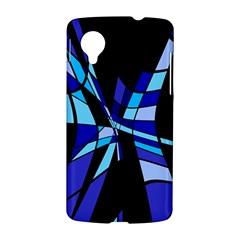 Blue abstart design LG Nexus 5