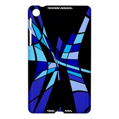 Blue abstart design Nexus 7 (2013)
