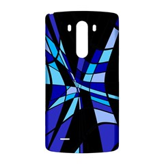 Blue abstart design LG G3 Back Case