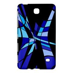 Blue abstart design Samsung Galaxy Tab 4 (8 ) Hardshell Case