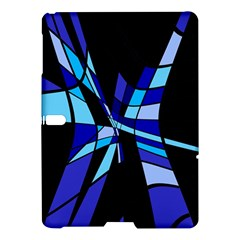 Blue abstart design Samsung Galaxy Tab S (10.5 ) Hardshell Case