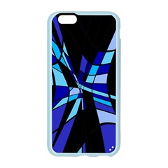 Blue abstart design Apple Seamless iPhone 6/6S Case (Color)