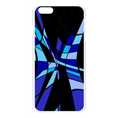 Blue abstart design Apple Seamless iPhone 6 Plus/6S Plus Case (Transparent)
