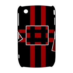 Red and black geometric pattern Curve 8520 9300