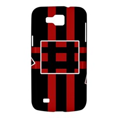 Red and black geometric pattern Samsung Galaxy Premier I9260 Hardshell Case