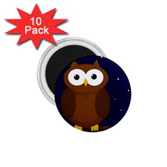Cute owl 1.75  Magnets (10 pack)