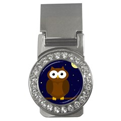 Cute owl Money Clips (CZ)