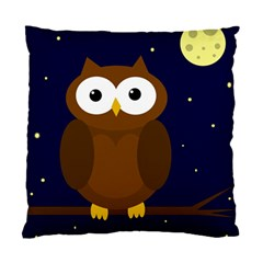 Cute owl Standard Cushion Case (Two Sides)