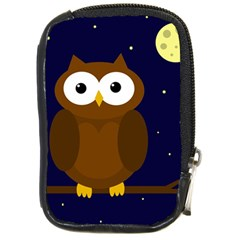 Cute owl Compact Camera Cases
