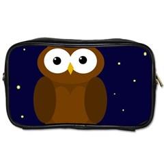 Cute owl Toiletries Bags