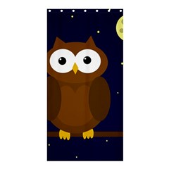 Cute owl Shower Curtain 36  x 72  (Stall)
