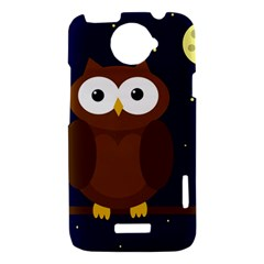 Cute owl HTC One X Hardshell Case