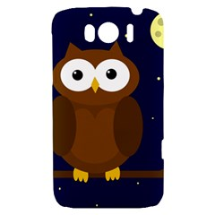 Cute owl HTC Sensation XL Hardshell Case