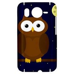 Cute owl HTC Desire HD Hardshell Case